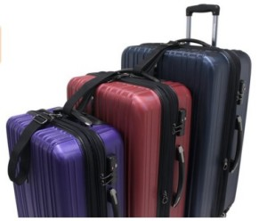 Traveler's Choice Tasmania Luggage Set