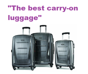 the best carry-on luggage v1