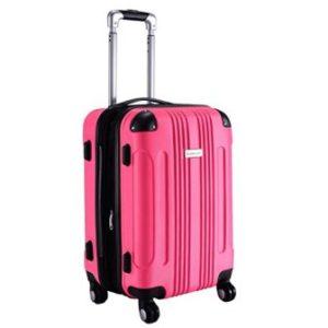 Goplus GLOBALWAY 20″ Expandable Carry On Luggage