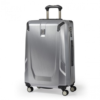 the travelpro crew 11 25u2033 hardside spinner is the perfect definition of a lightweight beautifully crafted and elegant looking luggage - Travel Pro Luggage