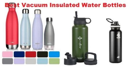 top 10 best vacuum insulated water bottles in 2018 travel gear zone. Black Bedroom Furniture Sets. Home Design Ideas