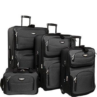 Traveler's Choice Amsterdam 4-Piece Luggage Set