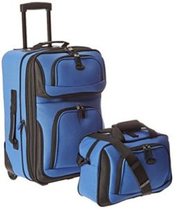 S Traveler Rio carry-on suitcase set