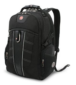 9dc835d2f3 Swiss Gear SA1753 Black TSA Friendly Scan Smart Computer Backpack