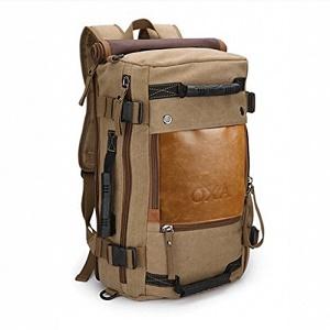 5547a1b32e OXA Vintage Canvas Backpack. Best Backpacks for Travel