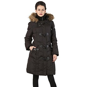 7712a35af21 BGSD Women s Water Resistant Quilted Down Toggle Coat