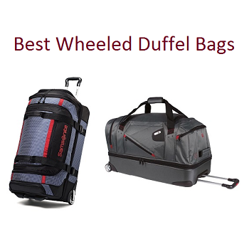932a240d0 Best Wheeled Duffel Bags In 2019 | Travel Gear Zone