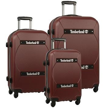 d67f5b063 Timberland Shelburne Expandable Three Piece Hardside Luggage Set