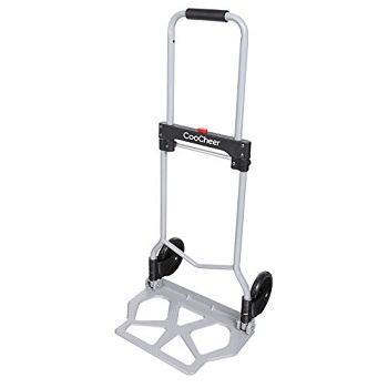 21052fc30 Coocheer Heavy Duty Folding Hand Truck Luggage Cart