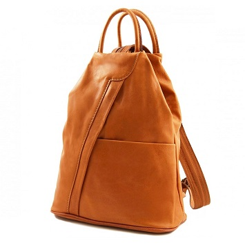 45c4ddfcddc7 This Tuscany Leather Shanghai Backpack is anything but boring! It comes in  a lot of colors