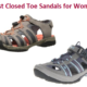 best closed toe sandals for women