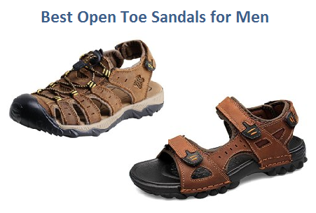 best open toe sandals for men