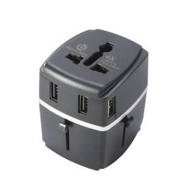 7.BONAZZA Universal International Travel Adapter Kit
