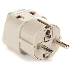 9.OREI European Plug Adapter Schuko Type EF