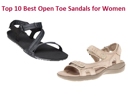 Top 10 Best Open Toe Sandals for Wome