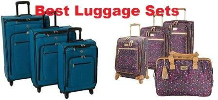... Top 15 Best Luggage Sets in 2017 - Complete Guide ffe5b17844433