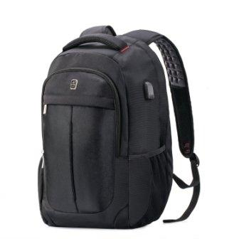 9e1373c42bd24 It has some Sosoon Business Bags with USB Charging Port Anti-Theft Backpack