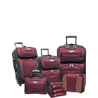 Traveler's Choice Amsterdam 8-piece Luggage Set
