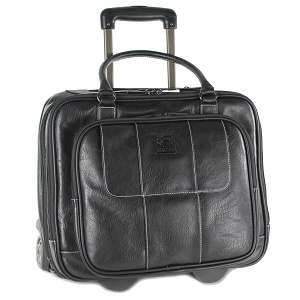 Kenneth Cole Reaction Casual Fling Computer Overnighter Travel Totes Rolling Briefcases For Men