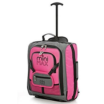 Aerolite MiniMAX Childrens/Kids Trolley Luggage cabin Suitcase/Backpack