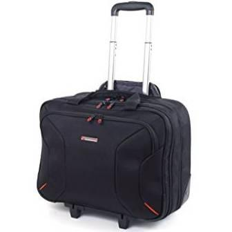 Alpine Swiss 17-Inch Rolling Briefcase with Tablet Sleeve