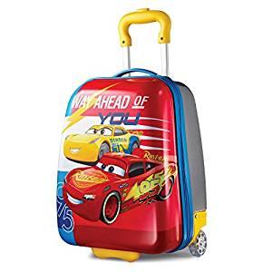American Tourister Kids' Hardside 18″ Upright, Disney Cars