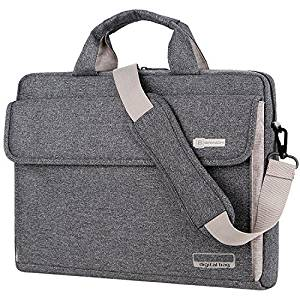 Laptop Bag Crossbody Shoulder Messenger Sleeve Bag in Premium Waterproof Canvas