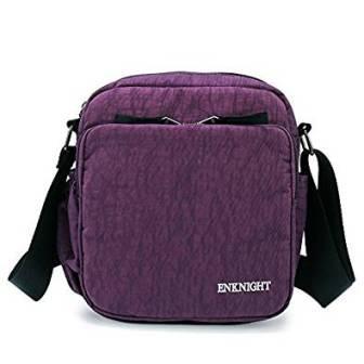 094044a295 ... ENKNIGHT Nylon Crossbody Purse Bag for Women Travel Shoulder handbags