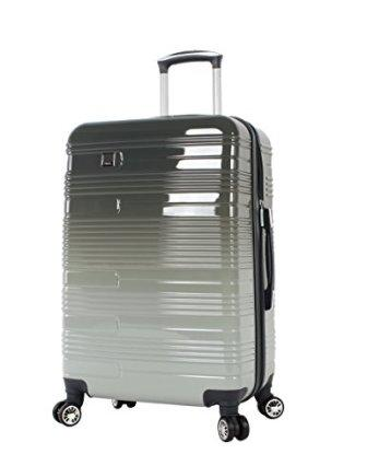 2de73c163 ... for Lucas Luggage ABS Mid Size Hard Case 24 inch Rolling Suitcase