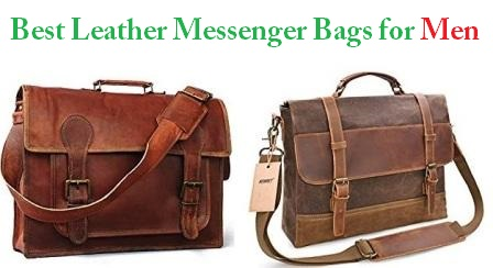 "Full Grain Leather Men 15/"" Laptop Briefcase Messenger Shoulder Bag Tote Satchel"