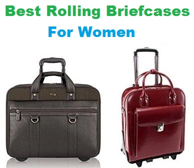 Top 15 Best Rolling Briefcases for Women