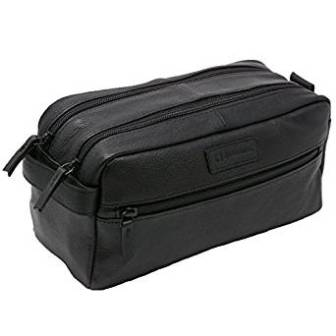 7229b58503 ... personal Alpine Swiss Sedona Toiletry Bag Genuine Leather Shaving Kit  Dopp Kit Travel Case accessories ...