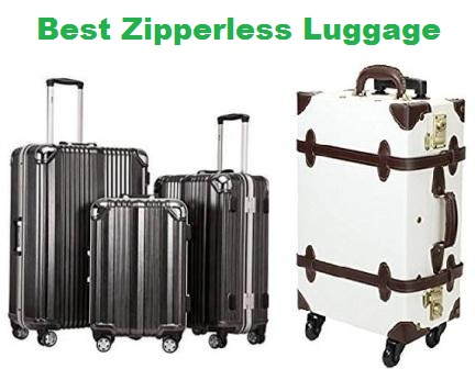 61011fb38dfe Top 15 Best Best Zipperless Luggage in 2019 | Travel Gear Zone