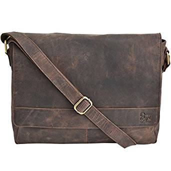 07511f074 It combines the Estalon Leather Laptop Messenger Bag for Men – Premium  Office Briefcase Macbook Professional College Mens Womens