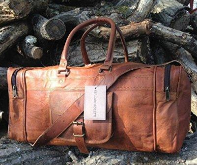 What to Anticipate - Leather Duffle