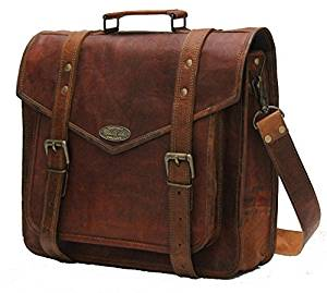 Handmade_world Leather Messenger Bags 15″