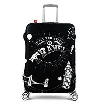 ISEYMI Travel Rolling Luggage Cover Travel