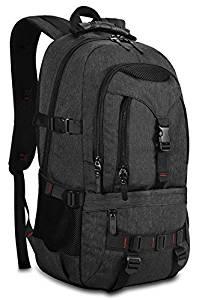 KAKA Terylene Fabric Backpack for 17-Inch Laptops Black NewKAKA Terylene Fabric Backpack for 17-Inch Laptops Black New