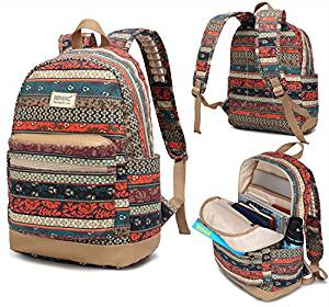 Kinmac Bohemian Water-Resistant Laptop Backpack