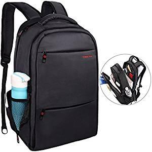 LAPACKER Water Resistant Lightweight Slim Laptop Backpack for Mens