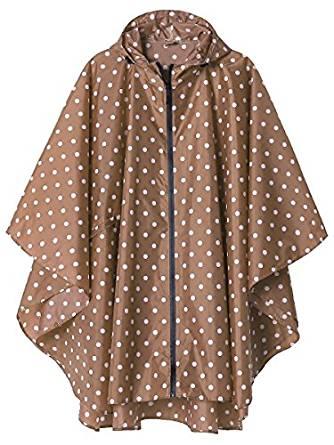 LinenLux Rain Poncho Jacket