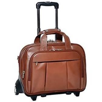 McKlein USA DAMEN R Series 17-Inch Detachable Wheeled Laptop Briefcase