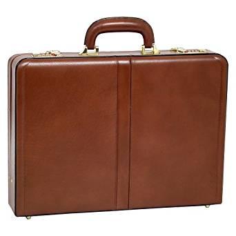 McKlein USA Reagan Leather Attaché Case