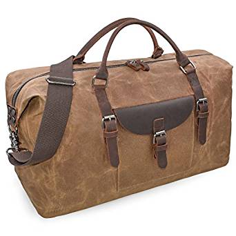 ce59802994 ... Newhey Oversized Waterproof Canvas Travel Duffel Bag