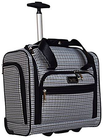 3b3e8fc34b39 ... Nicole Miller Taylor Collection 15″ Under Seat Bag