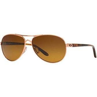 Oakley Feedback Polarized Aviator Sunglasses