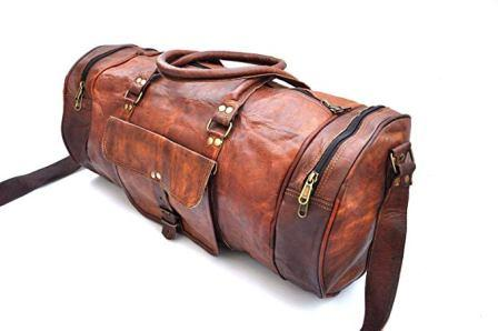 Top 15 Best Leather Duffel Bags in 2019  0b199e7b40f16