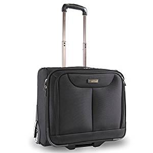 Perry Ellis Rolling Laptop Business Bag