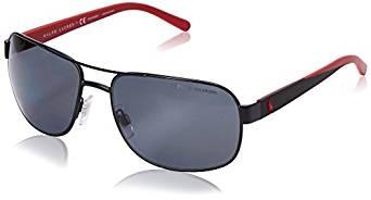 090be1f2e33 ... Polo Ralph Lauren Men s 0PH3093 Polarized Square Sunglasses