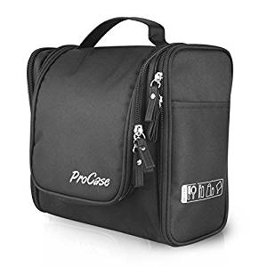 ... ProCase Toiletry Bag with Hanging Hook cca169f9d5769